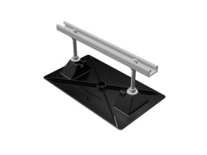 Model 16-Base Strut-7 | Base: Polycarbonate and Stainless Steel