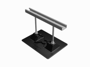 Model 2.5-Conduit Support-7 | Base: Polycarbonate and Stainless Steel