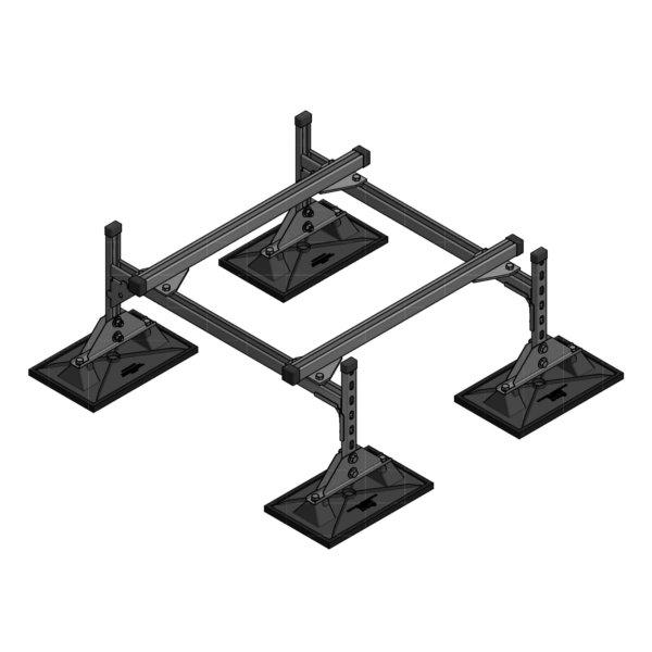 Mechanical Unit Support-HD-Rails