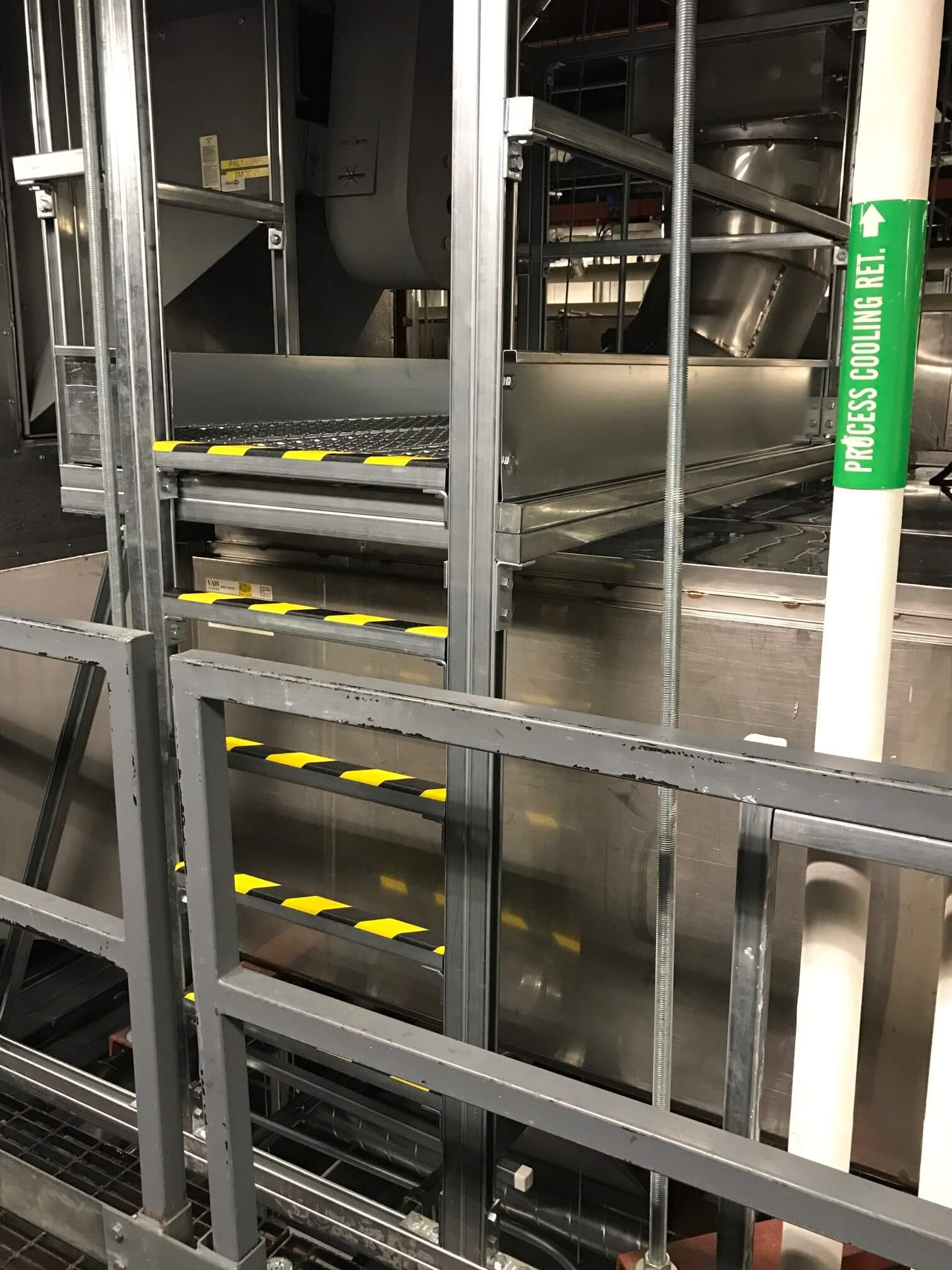 Fall Protection Safety Access Ladder